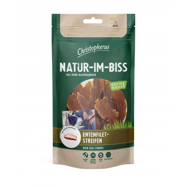 Christopherus Natur-Im-Biss Duck Filet Strips 70g